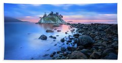 Bath Towel featuring the photograph Gentle Sunrise by John Poon
