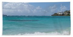 Bath Towel featuring the photograph Gentle Wave On Dawn Beach by Margaret Bobb