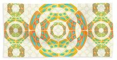 Geometric Composition Hand Towel