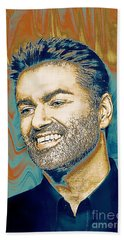George Michael - Tribute  Bath Towel