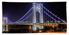 George Washington Bridge - Memorial Day 2013 Hand Towel