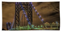 George Washington Bridge Hand Towel