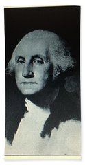 Hand Towel featuring the photograph George Washington by Richard W Linford
