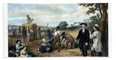 George Washington The Farmer Hand Towel
