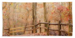 Hand Towel featuring the photograph Georgia Fall by RC Pics