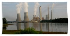 Georgia Power Plant Hand Towel by Donna Brown