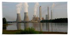 Georgia Power Plant Hand Towel