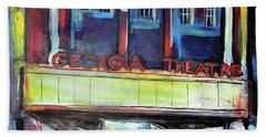 Georgia Theatre Hand Towel