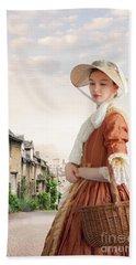 Georgian Period Woman Hand Towel by Lee Avison
