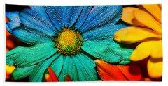 Gerbera Daisy Bath Towel by Tina LeCour