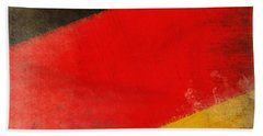 German Flag Hand Towel