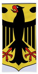 Germany Coat Of Arms Bath Towel by Movie Poster Prints
