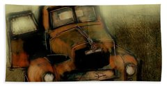 Getaway Truck Hand Towel by Jim Vance
