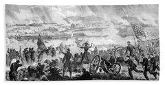 Gettysburg Battle Scene Hand Towel