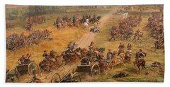 Gettysburg Cyclorama Detail Two Hand Towel
