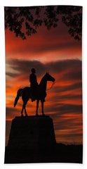 Gettysburg - Gen. Meade At First Light Hand Towel