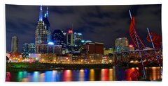 Ghost Ballet In Nashville Hand Towel by Frozen in Time Fine Art Photography