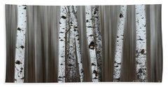 Bath Towel featuring the photograph Ghost Forest 1 by Bob Christopher