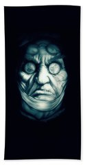Ghost Marley Hand Towel by Fred Larucci