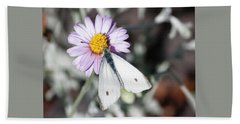 Ghost Moth In Pastel Hand Towel