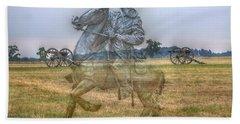 Ghost Of Gettysburg Bath Towel