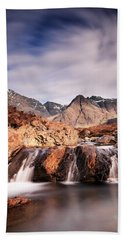 Ghost Of The Fairy Pools Bath Towel