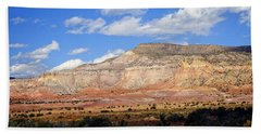 Hand Towel featuring the photograph Ghost Ranch New Mexico by Kurt Van Wagner