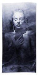 Ghost Woman Bath Towel