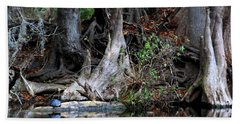 Giant Cypress Knees Bath Towel