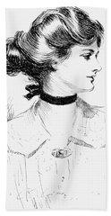 Gibson: Gibson Girl, 1905 Hand Towel