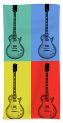 Gibson Guitar Pop Art Hand Towel