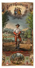 Gift For The Grangers Promotional Poster 1873 Hand Towel