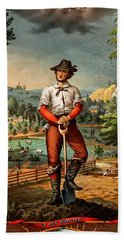 Gift For The Grangers 1873 Victoiran National Grange Agriculture Promotional Art Hand Towel