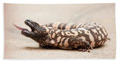 Gila Monster Hand Towel