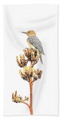 Gila Woodpecker Bath Towel
