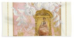 Gilded Age II - Baroque Rococo Palace Ceiling Inspired Bath Towel