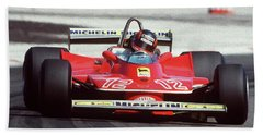 Gilles Villeneuve, Ferrari Legend - 01 Bath Towel