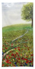 Ginger's Meadow Hand Towel