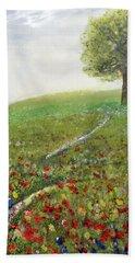 Ginger's Meadow Bath Towel