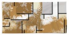 Giraffe 4 Bath Towel