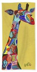 Giraffe Attitude Bath Towel