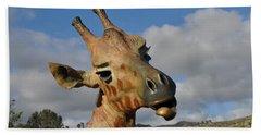 Giraffe Hand Towel