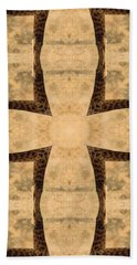 Giraffe Cross Hand Towel