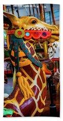 Giraffe Ride Hand Towel