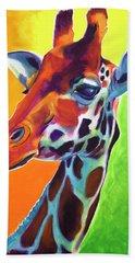 Giraffe - Summer Fling Hand Towel