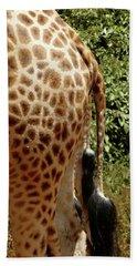Giraffe Tails Hand Towel