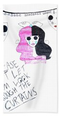 Melanie Martinez Bath Towel