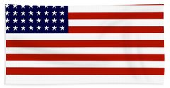 Give It Your Best American Flag Hand Towel