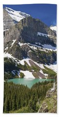 Glacier Backcountry Bath Towel by Gary Lengyel