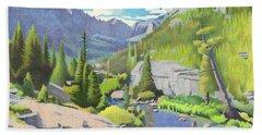 Glacier Gorge Hand Towel